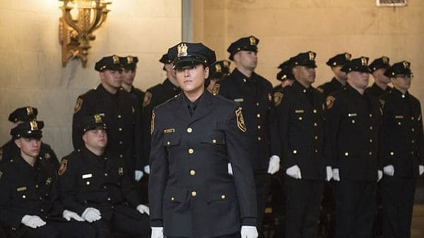 Hyman durante la ceremonia de graduación a la que pudo asistir gracias al levantamiento de su suspensión por parte de la Corte de Hudson (AP)