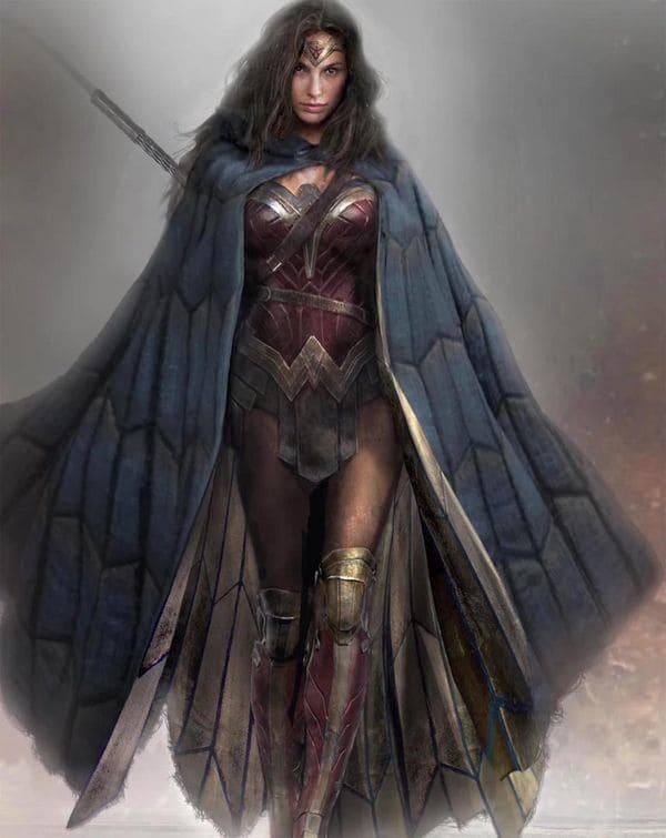 La Mujer Maravilla en la versión que encarna Gal Gadot.