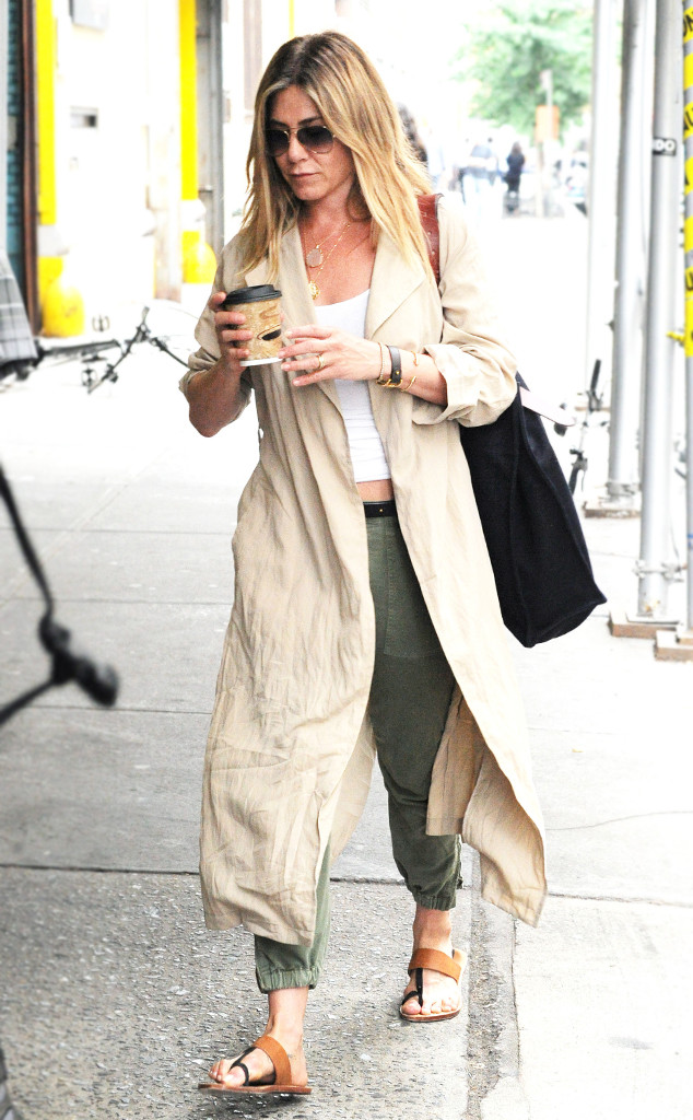 ESC: Jennifer Aniston, Coffee and Clothes
