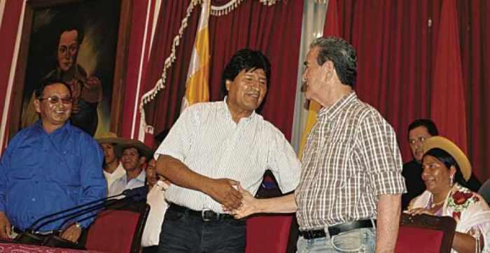Todos los hombres del Presidente en Tarija