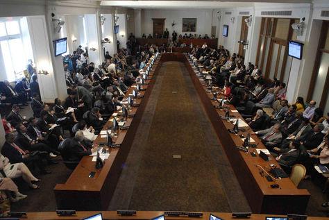 Reunión anterior de la OEA. Foto: Archivo