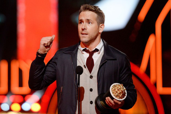 Ryan Reynolds, MTV Movie Awards 2016