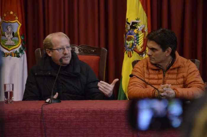 Oliva y Paz esperan apoyo para planta de tratamiento