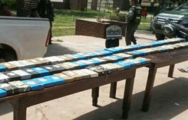 Resultado de imagen de Policía Antidroga secuestra 101,7 kilos de cocaína