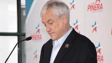 El precandidato presidencial chileno Sebastián Piñera.