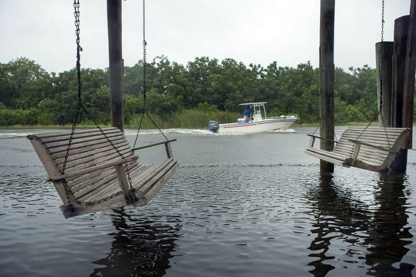 La tormenta tropical Cindy ya causó algunas inundaciones (AP)