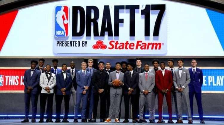 Los jugadores del draft 2017 (Getty)