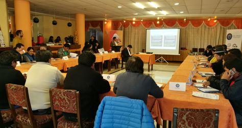 Directorio de la FAM-Bolivia analiza en Oruro la desafiliación de la CNS
