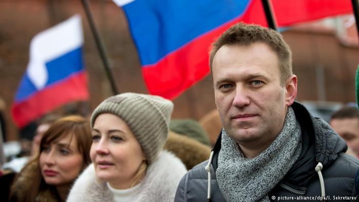 Alexej Nawalny ataca la corrupción en Rusia.