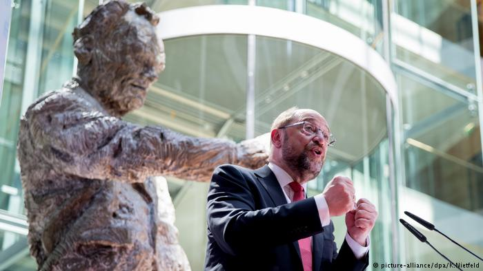 Martin Schulz, candidato a canciller del Partido Socialdemócrata alemán.