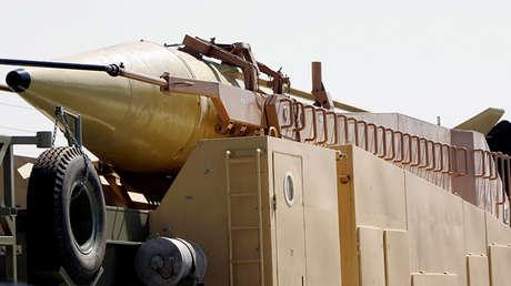 Un misil balístico Jericho III