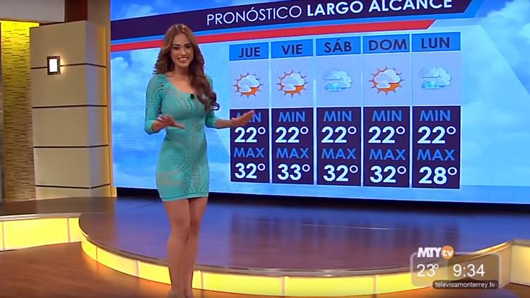 Meteoróloga salvadoreña se convierte en meme por no ser la típica chica 'sexy' del clima (FOTO)
