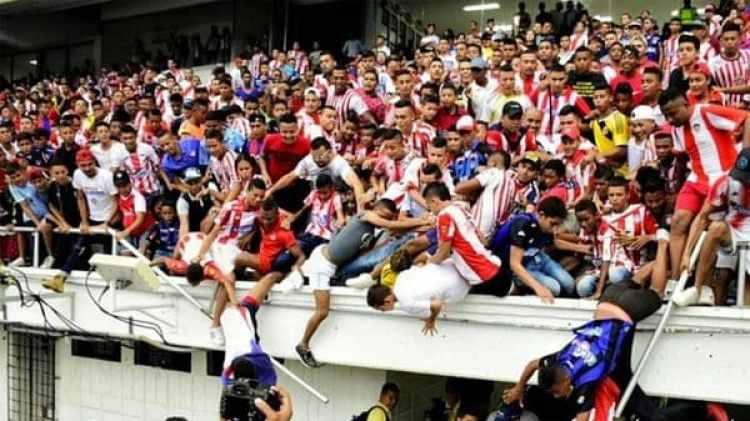 Teo Gutierrez generó la locura de los aficionados de Junior en su presentación