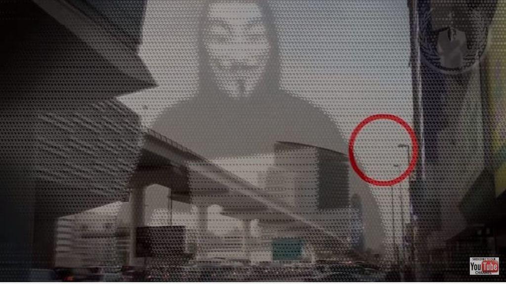 El vídeo con las presuntas revelaciones sobre vida extraterrestre de Anonymous.