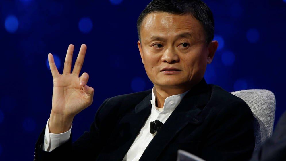 Foto: Jack Ma, CEO de Alibaba, durante una conferencia en Detroit. (Reuters)