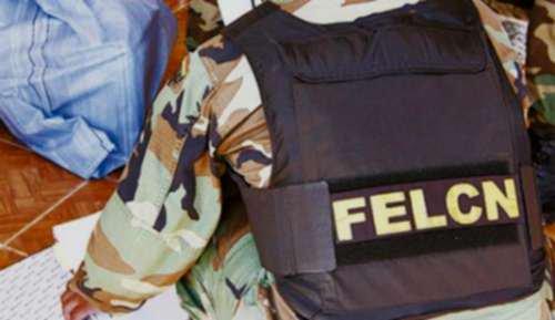 Resultado de imagen de Felcn incauta 107 kilos de cocaína y