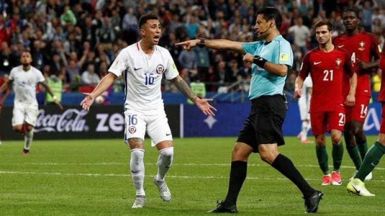 El árbitro fuer el iraní Alireza Faghani (Reuters)