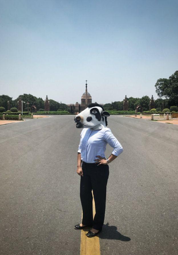 fotos vacas mujeres india4