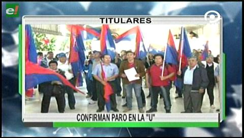 Video titulares de noticias de TV – Bolivia, noche del lunes 5 de junio de 2017