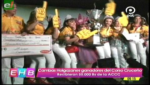 La ACCC premió a los ganadores del carnaval 2017