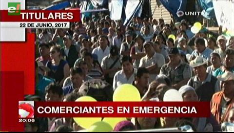 Video titulares de noticias de TV – Bolivia, noche del jueves 22 de junio de 2017
