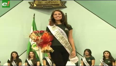 Eligen a Miss Personalidad, rumbo al Miss Bolivia 2017