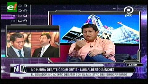 Ortiz no se presenta al debate con el ministro de Hidrocarburos en NM