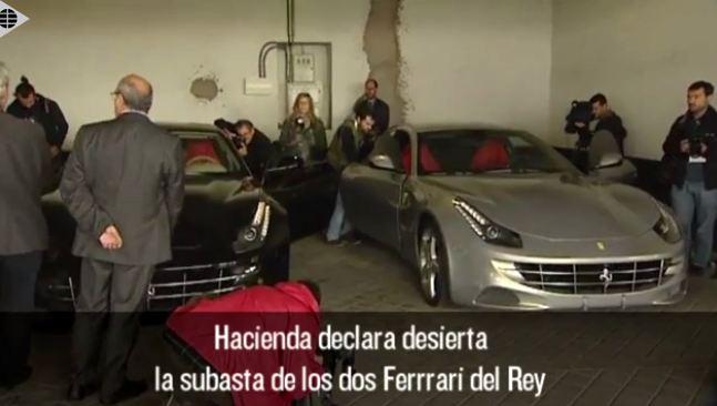 Los Ferrari del Rey, a mitad de precio