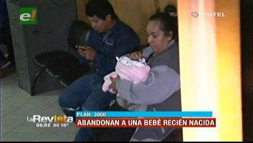 Santa Cruz: Encuentran a bebé recién nacida abandonada en la calle