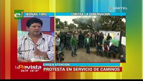 Trabajadores del Sedcam exigen que se les cancele el Bs.1 millón que les adeudan