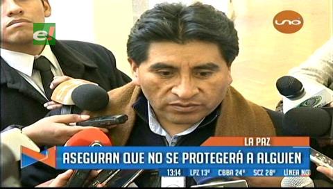 Gabinete no evalúa el caso Achá y Cocarico admite preocupación