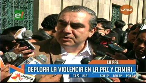 Conflicto en Camiri: Siles respalda la institucionalidad municipal, pide esperar a un revocatorio