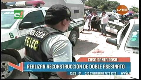 Familia Santa Rosa pide justicia tras reconstrucción de crimen