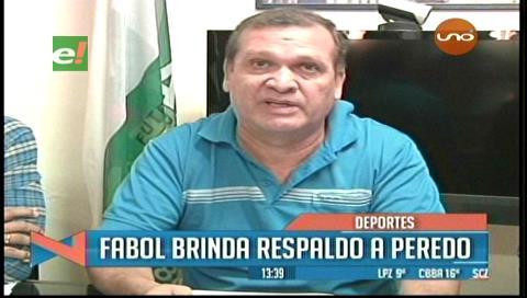 Fabol respalda las declaraciones de Marco Peredo