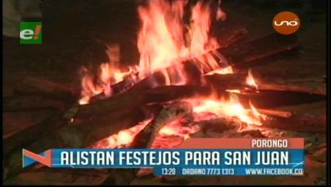 San Juan: Municipio de Porongo espera a más de 60 mil visitantes