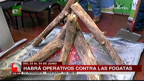 Alcaldía de Santa Cruz anuncia multas contra encendido de fogatas