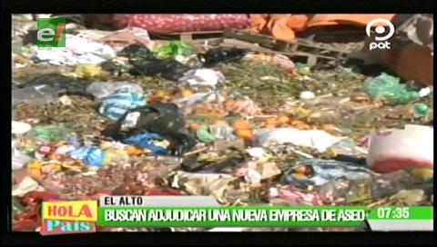 La basura inunda las calles alteñas