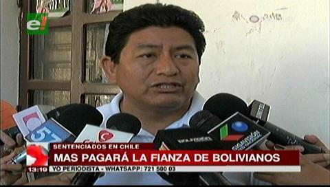Parlamentarios del MAS donarán dinero para pagar la fianza de los 9 detenidos en Chile