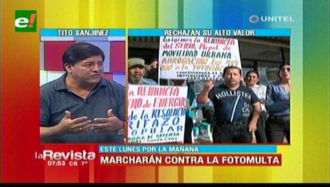 Concejal Sanjinéz: «La fotomulta no es un impuesto, se sancionará al infractor»