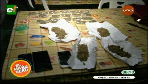 Detienen a estudiantes en posesión de marihuana