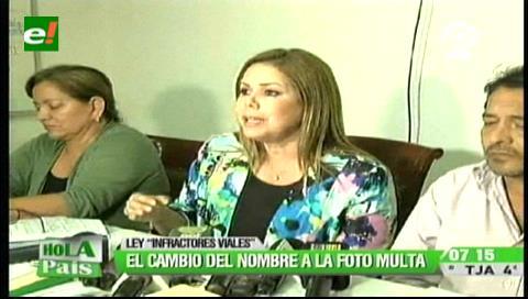 Santa Cruz: Cambian el nombre de fotomulta por Ley contra Infractores Viales