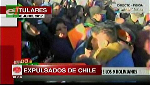 Video titulares de noticias de TV – Bolivia, mediodía del miércoles 28 de junio de 2017