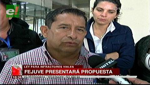 Ley Contra Infractores Viales: Fejuve presentará su propuesta