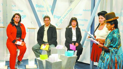 Postulantes a los altos magistrados en 2011, en un programa de prueba de conocimientos.