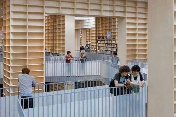 El ayuntamiento japonés de Musashino creó un espacio en la biblioteca dirigido exclusivamente para niños y adolescentes.