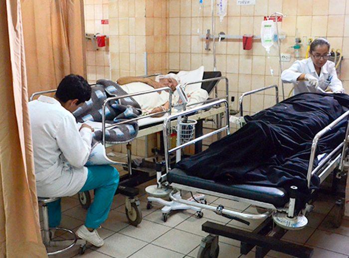 El sistema de salud es ineficiente en el país.