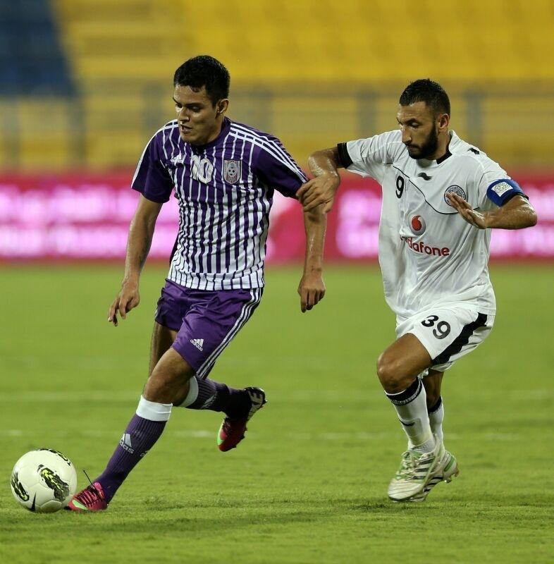 Resultado de imagen de Jhasmani Campos aportó con un gol en la victoria del Bangkok