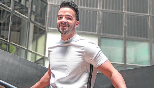 El cantante Luis Fonsi