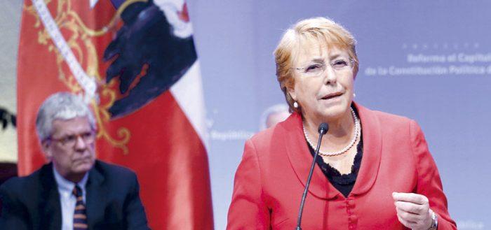 """Bachelet por río Silala: """"Bolivia no puede pretender apropiarse de aguas que son compartidas"""""""