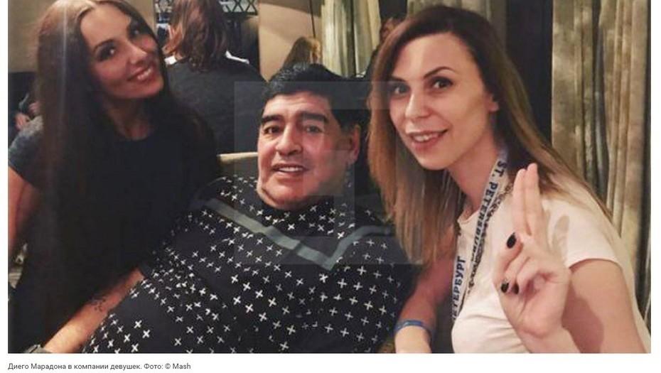 Vinculan a Diego Maradona por un acoso sexual y su entorno lo niega